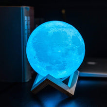 Load image into Gallery viewer, 1205 3D Moonligt Lamp with Touch Control Adjust