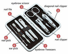 Load image into Gallery viewer, 0529 Pedicure & Manicure Tools Kit For Women (7in1)