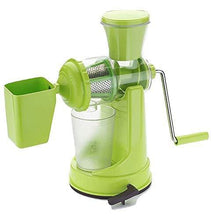 Load image into Gallery viewer, 168 Manual Fruit Vegetable Juicer with Juice Cup and Waste Collector