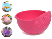 Load image into Gallery viewer, 2062 Plastic Heavy Rice Bowl Strainer/Colander