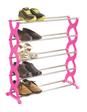 Load image into Gallery viewer, 0520 Stackable 5 Layer Folding Shoe Rack