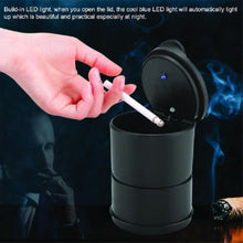 Load image into Gallery viewer, 876 Portable LED Ashtray Cup Holder for Cars/Truck/Auto