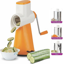 Load image into Gallery viewer, 068 -4 In 1 Vegetable Grater Mandoline Slicer