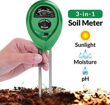 Load image into Gallery viewer, 473 Soil Tester 3-in-1 Plant Moisture Sensor (Green)
