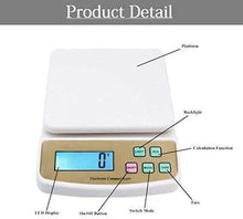 Load image into Gallery viewer, 869 Atom A122 Electronic Kitchen Digital Weighing Scale (SF-400A), White