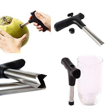 Load image into Gallery viewer, Coconut Opener Bundle Drill Cutter Cleaning Stick Tap