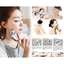 Load image into Gallery viewer, 370 -3D Face-lift Roller Massager Y Shape Roller Massager Wrinkle Remove Face Tighten Skin Care Massage Instrument Beauty Tool