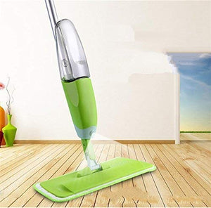 0802 -Healthy Spray Mop - Floor Mop with Removable Washable Cleaning Pad and Integrated Water Spray Mechanism (Random Color)