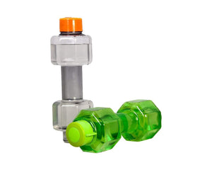 754_Dumbbell Water Bottle (750 ml) Gym Water Bottle(2 pcs)