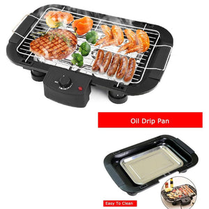 082 Smokeless Electric Indoor Barbecue Grill, 2000w