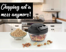 Load image into Gallery viewer, 741 Mini Pull Chopper 450ml Handy Plastic Chopper with Triple SS Blade