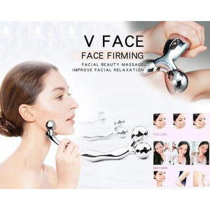 370 -3D Face-lift Roller Massager Y Shape Roller Massager Wrinkle Remove Face Tighten Skin Care Massage Instrument Beauty Tool