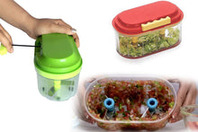 Load image into Gallery viewer, 071 Plastic Vegetable Chopper Set