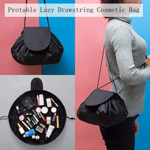CZ19-- Cosmetic Bag Drawstring Travel Makeup Bag Pouch Multifunction Storage Portable Toiletry Bags