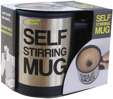 Load image into Gallery viewer, Automatic Stainless Steel Coffee Mixing Blender Self Stirring Mug