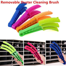 Load image into Gallery viewer, CZ13  Microfiber Window Duster Set, Cleaning Brush, Portable Handle ABS Material