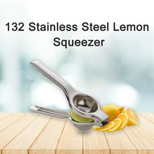 Load image into Gallery viewer, 132 Stainless Steel Lemon Squeezer