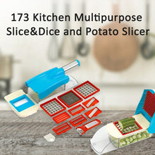 Load image into Gallery viewer, 173 Kitchen Multipurpose Slice&Dice and Potato Slicer