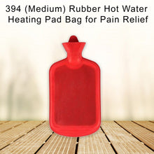 Load image into Gallery viewer, 394 (Medium) Rubber Hot Water Heating Pad Bag for Pain Relief