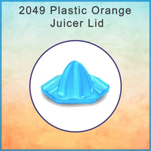 Load image into Gallery viewer, 2049 Plastic Orange Juicer Lid