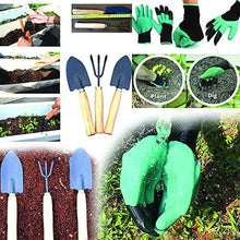Load image into Gallery viewer, HomefyShop Gardening Hand Cultivator, Big Digging Trowel, Shovel & Garden Gloves with Claws for Digging & Planting