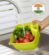 Load image into Gallery viewer, 2097 Multi Functional Washing Bowl with Handle (Multi-Colour)