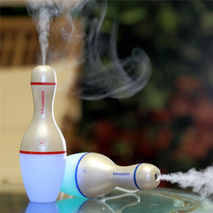 362 Air Humidifier USB 5V Bowling Bottle Led Lamp Light Air Diffuser Mist Maker Aromatherapy 150ML Ultrasonic Diffuse for SPA Home