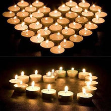 Load image into Gallery viewer, 1222  Festival Decorative - LED Tealight Candles (White, 24 Pcs)