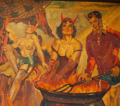 Dali of the Dive Bars: A Brief History of Mid-Century Barroom Artist Frank Bowers