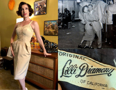 The Many Facets of the Lilli Diamond Vintage Dress Line