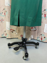 Load image into Gallery viewer, Vintage 1940s Skirt • Green Gabardine A Line Skirt • Medium
