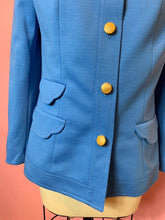 Load image into Gallery viewer, Vintage 1970s Blazer • Pan Am Stewardess Uniform Designed by Edith Head • Medium