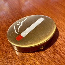 Load image into Gallery viewer, Vintage 1930s-1940s Ashtray • Art Deco Era Hand-Painted Cigarette Portable Ashtray
