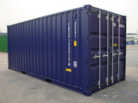"Container 20""  Isoleret og uisoleret"
