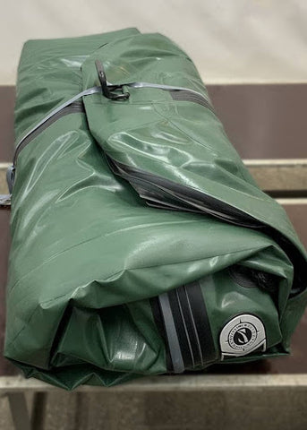 how to store an inflatable boat