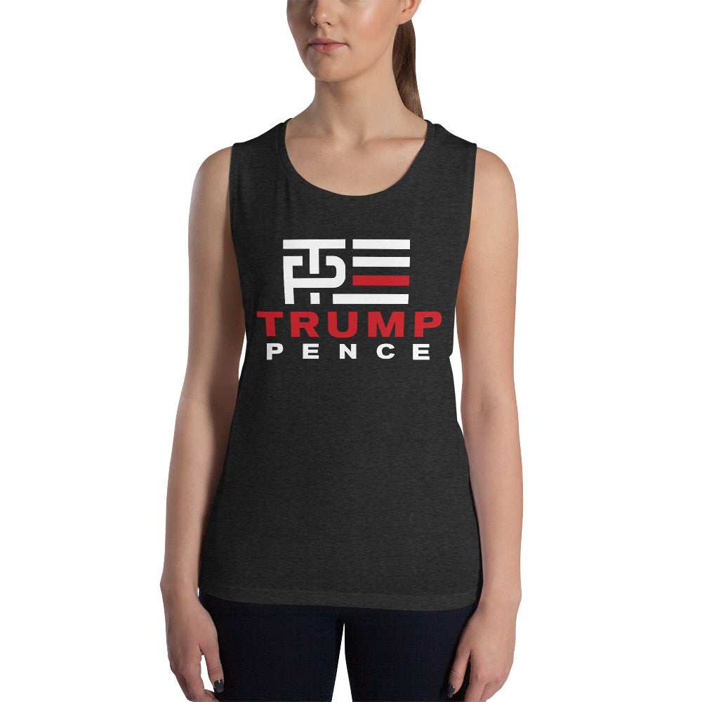 Red Line Muscle Tank