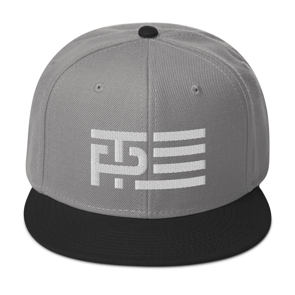 Classic White Snapback Hat