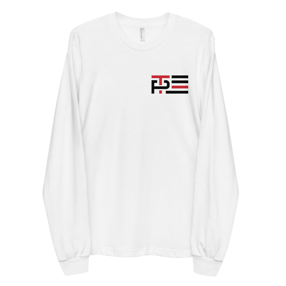 Red Line Icon Men's Long Sleeve