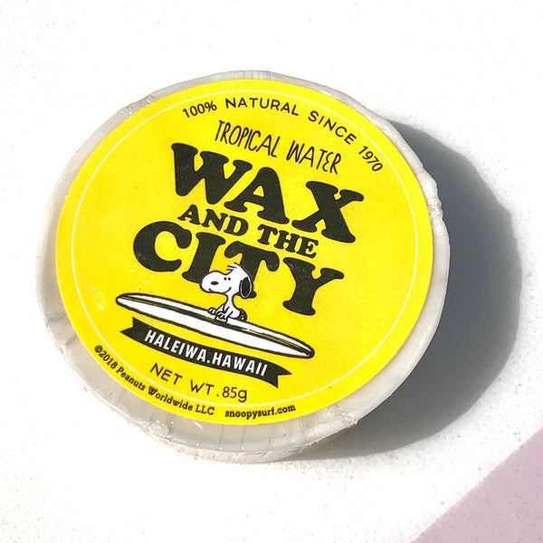 SNOOPY SURFBOARD WAX