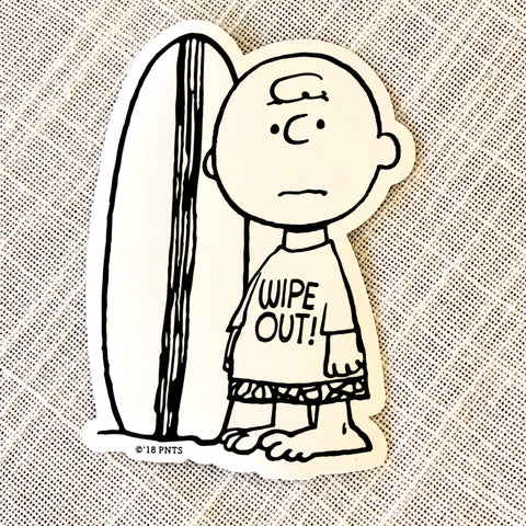 STICKER - CHARLIE BROWN