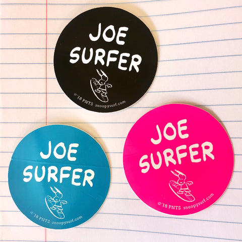 STICKER - JOE SURFER