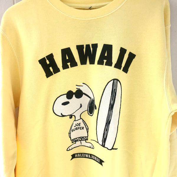 HAWAII SNOOPY TERRY CREW