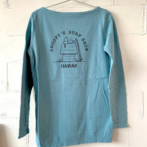 HOUSE & SNOOPY LS TEE (JAPAN ONLY )