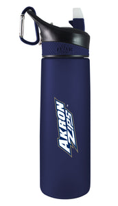 Akron 24oz. Frosted Sport Bottle - Secondary Wordmark