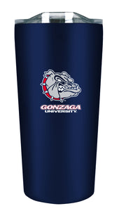 Gonzaga 18oz. Soft Touch Tumbler - Mascot Logo & Wordmark - Horizontal