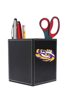 Louisiana State University Square Desk Caddy - Secondary Logo