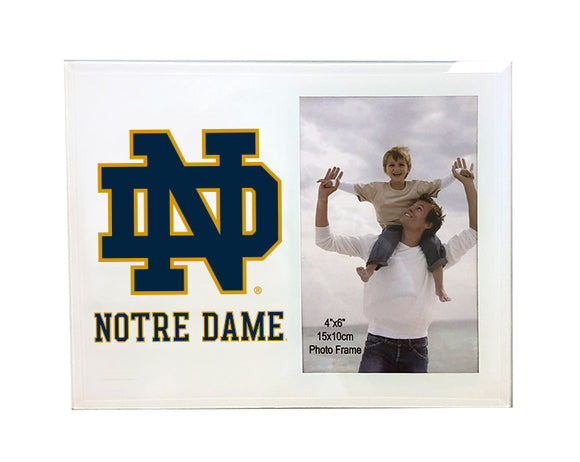 University of Notre Dame Photo Frame - Primary Logo & Wordmark