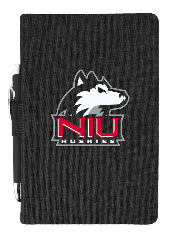 Northern Illinois  Journal with Pen - Primary Logo