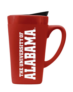University of Alabama 16oz. Soft Touch Ceramic Travel Mug - Wordmark