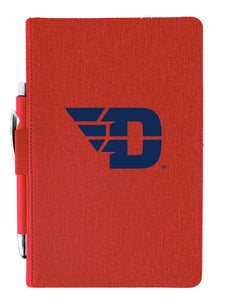 University of Dayton Journal with Pen - Primary Logo